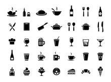 Restaurant Vector Icons
