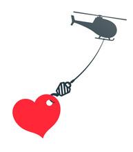 Vector Image Of Huge Heart Han...
