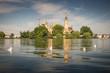 Schloss in Schwerin und Schweriner See, Mecklenburg-Vorpommern in Deutschland
