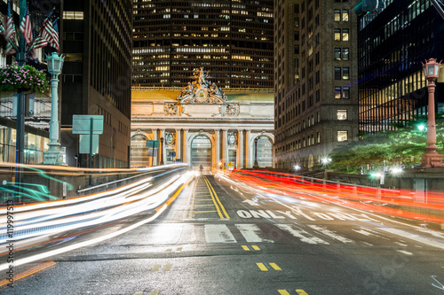 Fotografie, Tablou  traffic at grand central station