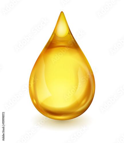 Fototapeta Drop of Oil or Fuel obraz