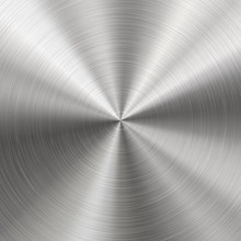 Brushed Metal, Radial Texture