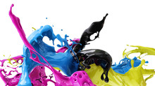 Colors Splash Cmyk