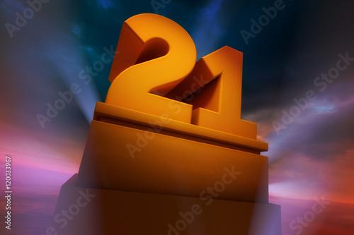 Tela Big Number 21