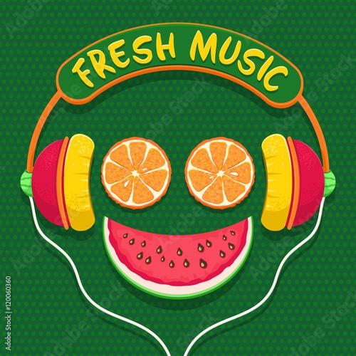 Fototapeta Fresh music