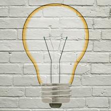 Graffiti, Ampoule électrique