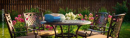Fotografie, Obraz  Music player on table, relaxing