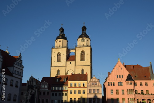 Fotografie, Obraz  Stadtkirche Wittenberg