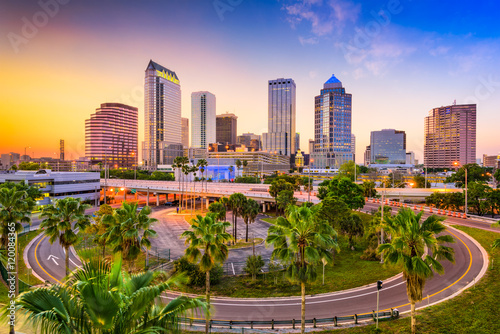 Tampa Florida Skyline Canvas Print