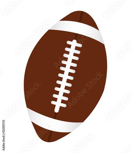 futbol amerykański sport ikona wektor ilustracja projektu