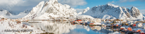 Photo  Fisherman's village, Lofoten island
