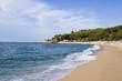 Beautiful landscape of the sea coast.