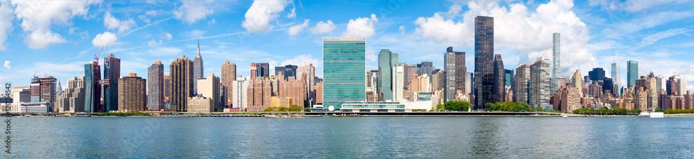 Fototapety, obrazy: Panoramic image of midtown New York City