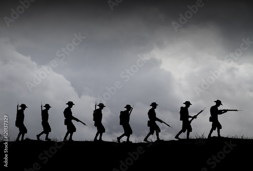 Fototapeta ANZAC illustration