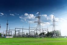 Power Station On Blue Sky At Daytime