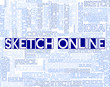 Sketch Online Means Design Website And Creativity