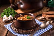 True North German Mock Turtle Soup With Mushrooms