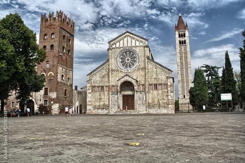 Fotografie, Obraz  Basilica di San Zeno a Verona
