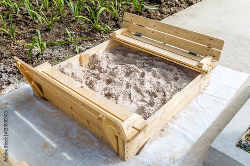 Photo  Sandbox at Playground