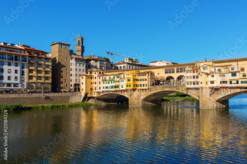 Wall Murals Florence Ponte Vecchio in Florence, Italy