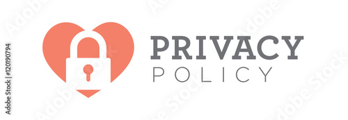Badge Website privacy policy or badge for website or email buy this stock