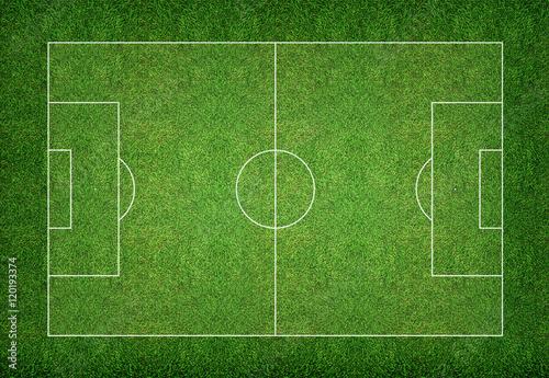 Soccer field background.
