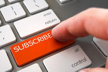 Subscribe - Keyboard Key Conce...