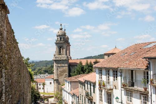 Convento de San Francisco de Santiago de Compostela Galicien Spanien Poster Mural XXL