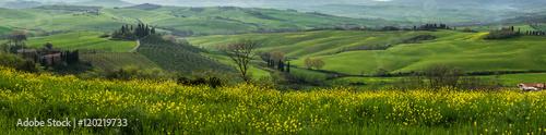 Tuscan countryside Fotobehang