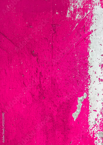 Canvas-taulu Pink painted grunge texture