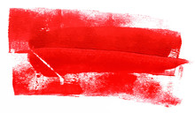 Abstract Background With Red Paint Strokes; Scalable Vector
