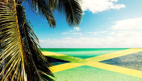 Jamaican Beach Canvas Print