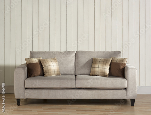 Super Modern Harris Tweed Sofa Chair And Cushion In Wainscot Onthecornerstone Fun Painted Chair Ideas Images Onthecornerstoneorg