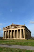 View Of The Parthenon In Narshville