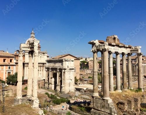 Recess Fitting Rome Trajan's Forum, Rome, Italy
