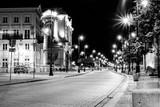 Fototapeta Miasto - Warszawa nocą