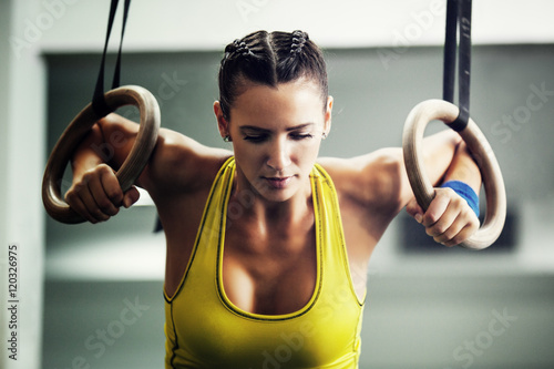 Young fit woman