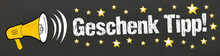 Geschenk Tipp! Talel Mit Megafon Und Sterne