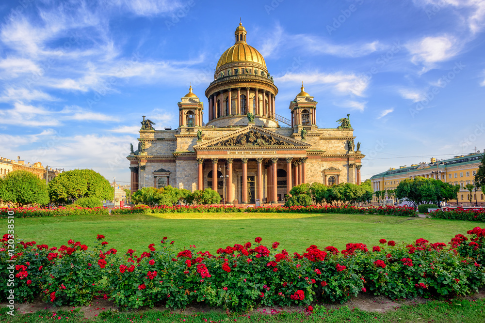 Fototapety, obrazy: St Isaac cathedral, Saint Petersburg, Russia