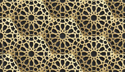 islamski-bezszwowy-wzor-z-gwiazdami-tlo-wektor