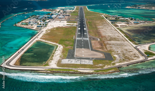 Canvas Prints Airport Maldivian airport