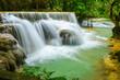 Kuang Si WaterFalls / Kuang Si waterfalls, the most famous waterfalls in Lao.
