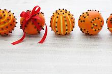 Clove Orange Pomander Balls, H...