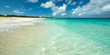 Anguilla beach, caribbean sea