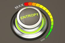 High Entropy Concept, 3D Rende...