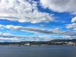 "Oslo, the capital of Norway. Photo taken from the fjord in ""northern"" direction"