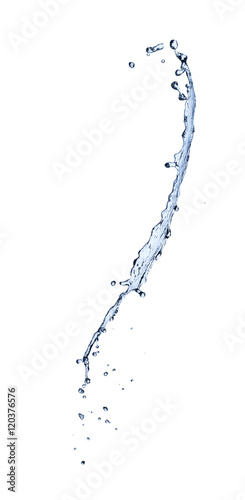 Papiers peints Eau water splash isolated on white background