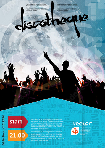 Concert Illustration Music Event Background Ready For Poster