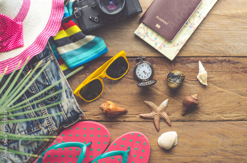 Fotografia  Travel accessories costumes