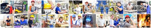 Foto  Berufe im Handwerk, Gewerbe und der Industrie - Ausbildung und Portraits von Per